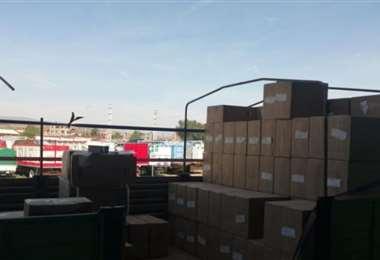 Aduana decomisa mercadería de contrabando en Cochabamba