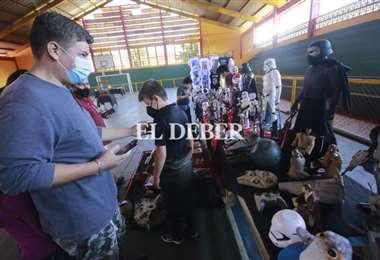 En la Expo Star Wars también se pueden apreciar cosplay. Fotos: Juan Carlos Torrejón