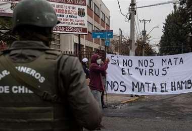 Las protestas de diversos sectores marcaron el último año