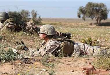 EEUU y Marruecos anuncian ejercicios militares en zona disputada por el Frente Polisario