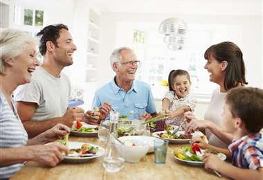 Comer sano en familia