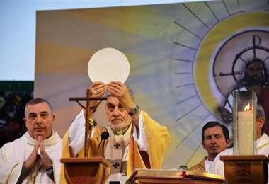 Monseñor Gualberti presidirá la celebración de este jueves. Foto: Archivo