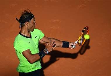 Rafael Nadal ganó este martes y pasó a la siguiente ronda. Foto: AFP