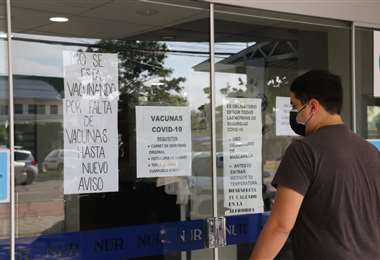 Suspenden vacunación en la NUR por falta de dosis. Foto: JC. Torrerjón