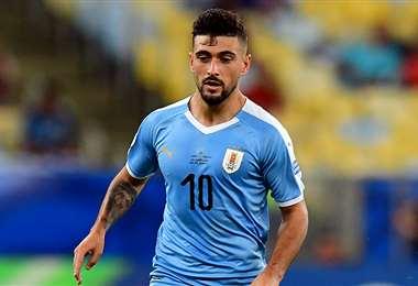 Giorgian De Arrascaeta, defensor de la selección uruguaya. Foto: internet