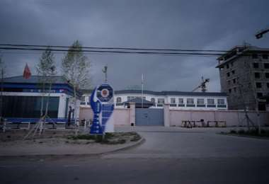 Un campo de reeducación de uigures en China. Foto: Archivo BBC