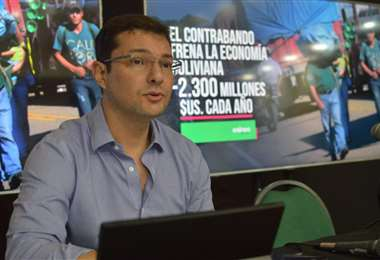 Fernando Hurtado, presidente de la Cainco