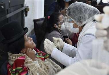 Volvieron las pruebas antígenas para detectar el virus (Foto: Archivo)