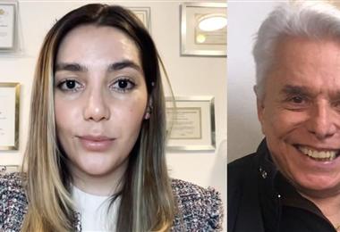 Frida Sofía anunciando que demandará a su abuelo Enrique Guzmán