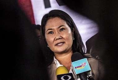 La candidata derechista Keiko Fujimori. Foto: AFP