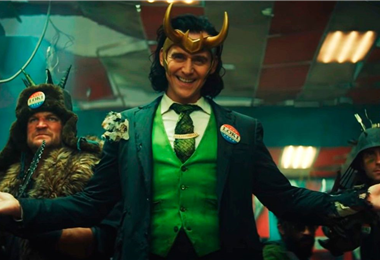 """Escena del primer capítulo de """"Loki"""""""
