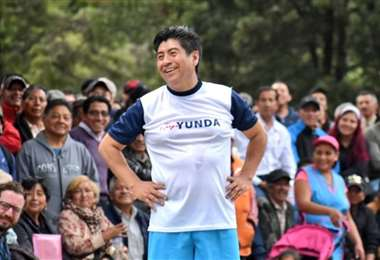 Jorge Yunda es el alcalde de Quito y el anuncio lo hico por Twitter. Foto: Internet