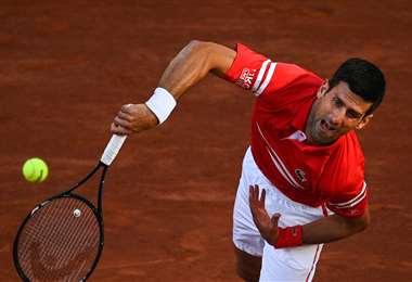 Djokovic dijo que jugó su mejor tenis ante Nadal. Foto: AFP