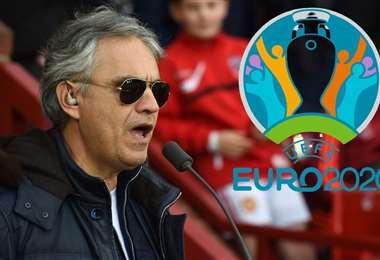Bocelli es una de las estrellas invitadas a la inauguración de la Eurocopa. Foto: internet