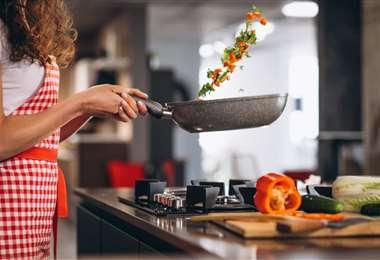 Mamá cocinando