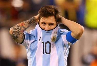 Lionel Messi perdió tres finales de Copa América. Foto: Internet