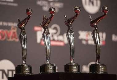 Trofeos que se llevan los ganadores de este premio de cine