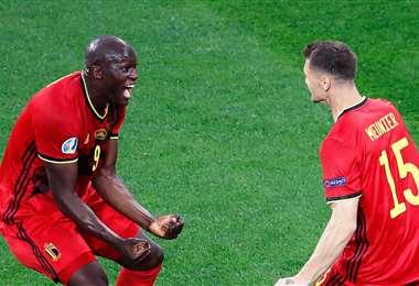 Lukaku demostró una vez más su efectividad. Foto: AFP