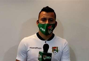 Jorge Flores, seleccionado nacional. Foto: Captura de pantalla