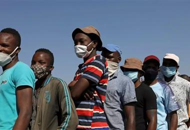 África es uno de los continentes con poco acceso a las vacunas contra el Covid-19