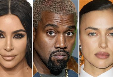 Kardashian, West y Shaik
