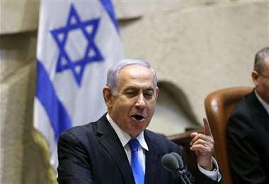 Netanyahou se dirige a los legisladores antes de la votación sobre un nuevo gobierno