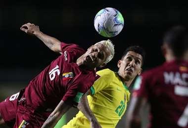 Brasil lega como favorito al duelo contra Venezuela. Foto: Internet