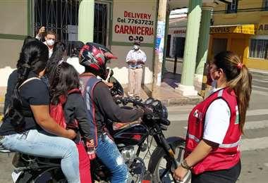 En Montero rige el encapsulamiento hasta las 4.00 del lunes (Foto: Juan Carlos Fernández)