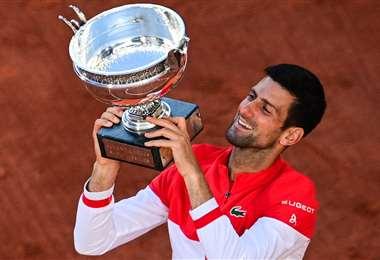 Djokovic demostró una gran capacidad de reacción en la final. Foto: AFP