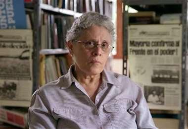 Dora María Téllez es dirigentes de la opositora Unión Democrática Renovadora