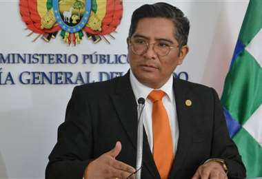 Edwin Quispe dijo que la declaración de Áñez abrió otros caminos (Foto: Fiscalía)