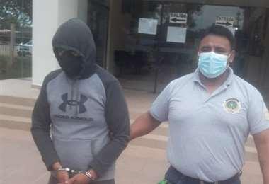 El sindicado fue trasladado ayer al celdas de Palmasola, donde cumplirá su condena.