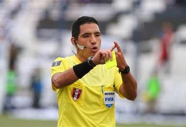 Diego Haro es un experimentado árbitro peruano. Foto: Internet