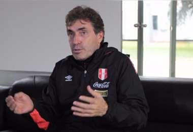 Néstor Bonillo, preparador físico de la selección peruana. Foto: internet