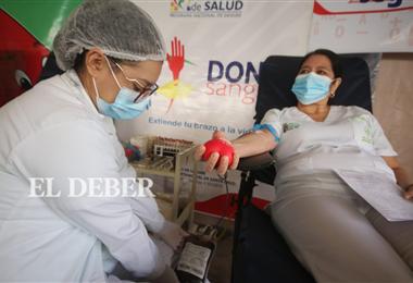 El Banco de Sangre espera a los donantes. Foto. Juan Carlos Torrejón