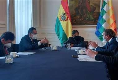 El vicepresidente recibió a los empresarios/Foto: CNC