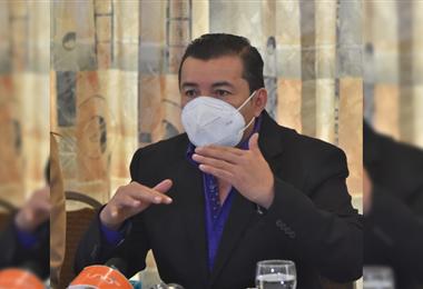 Fernández solicita la liberación de impuestos para la importación de vacunas. Foto: APG