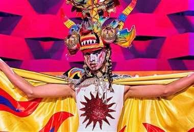 Inti se inspiró en el baile de la diablada en el reto Mis raíces