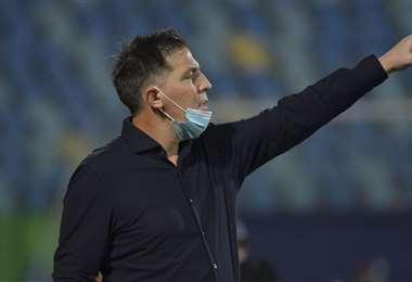Berizzo ahora debe preparar su equipo para enfrentarse a Argentina. Foto: AFP