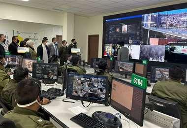 Este es el centro de comando en La Paz, autoridades subnacionales lo visitaron