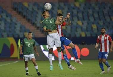 Bolivia y Paraguay se enfrentan en Goiania por Copa América. Foto: AFP