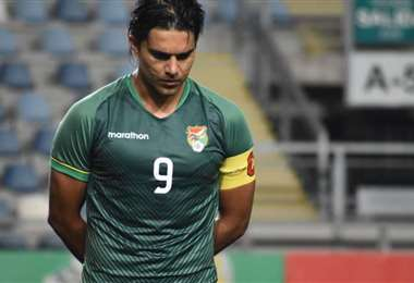 Marcelo Martins, capitán de la selección nacional. Foto: internet