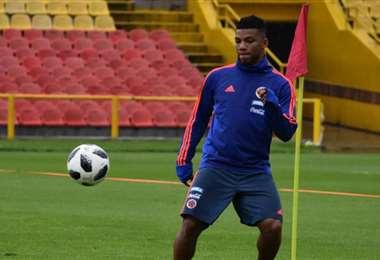Frank Fabra, llamado de emergencia a la selección colombiana. Foto: Internet