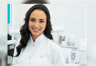 Fátima Jordán, es afiliada al Colegio de Odontólogos de Santa Cruz