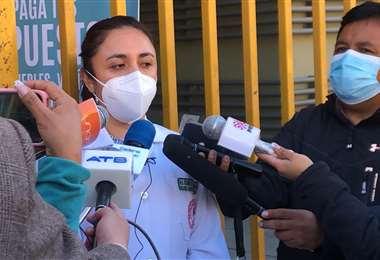 La secretaria de Salud de La Paz I AMN.