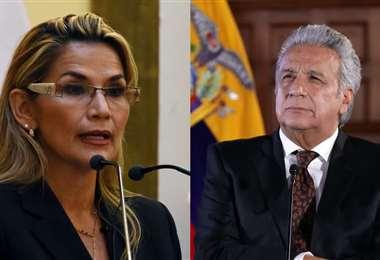 Los expresidentes de Bolivia y Ecuador I archivo.