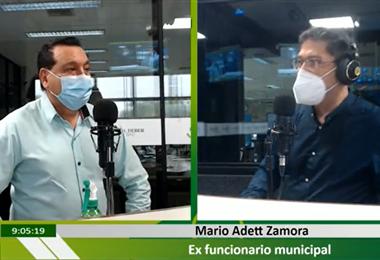 Mario Adett Zamora cuestiona contrataciones no éticas en la gestión de Sosa