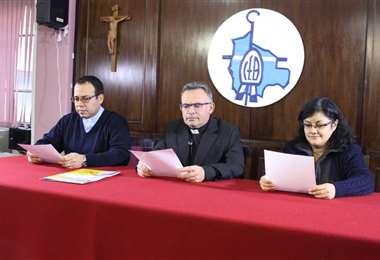 Autoridades eclesiásticas brindaron un informe
