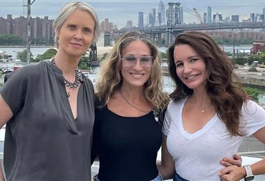 Cynthia Nixon, Sarah Jessica Parker y Kristin Davis