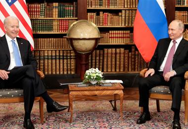 Los presidentes de las potencias mundiales tuvieron un encuentro esperado